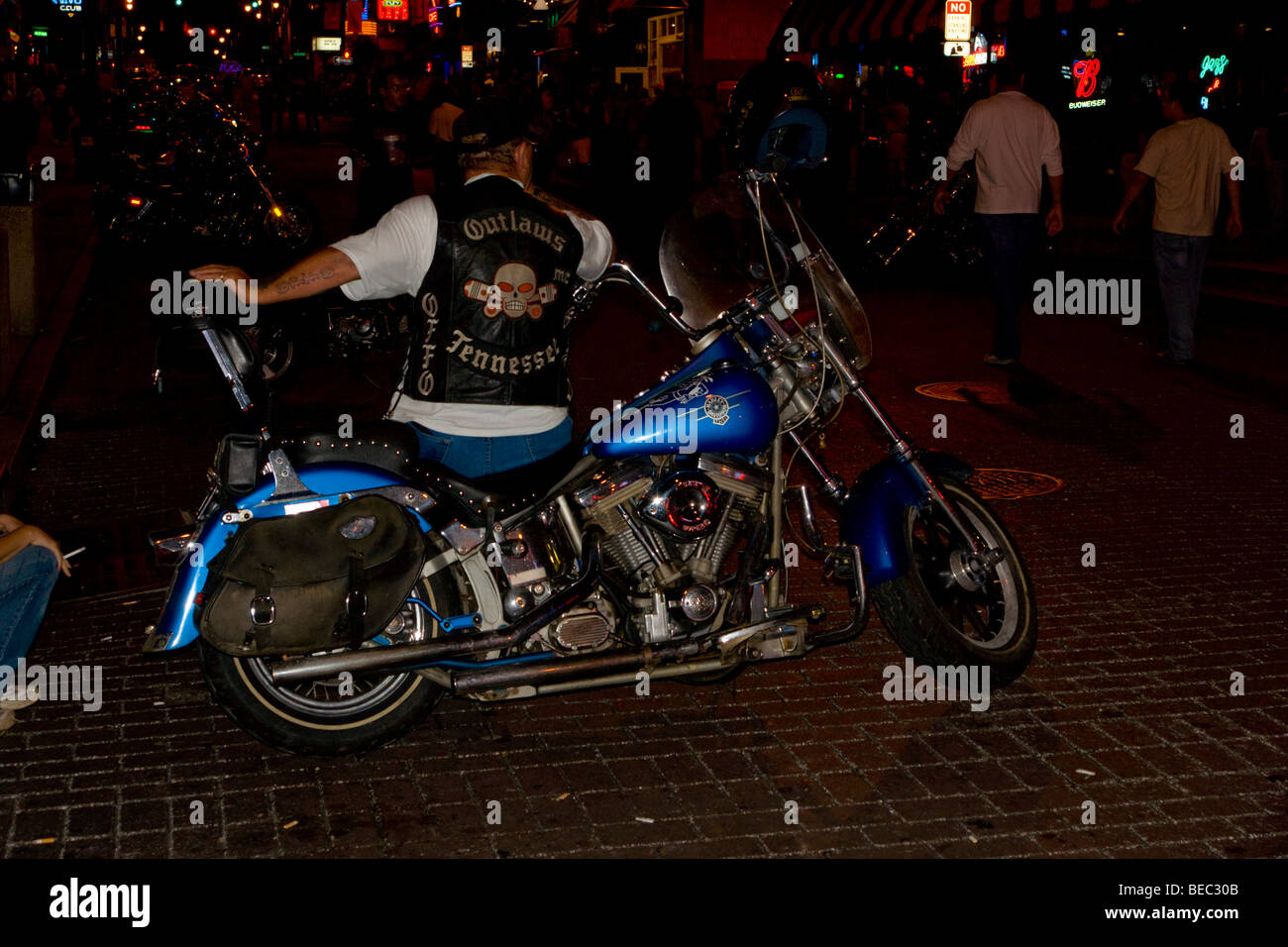 Outlaws Motorcycle Club Stock Photos & Outlaws Motorcycle