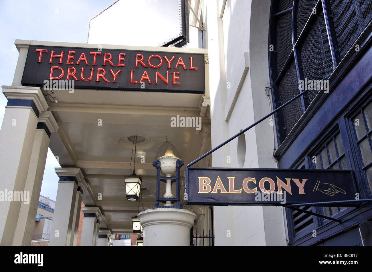 Theatre Royal Drury Lane, Covent Garden, City of Westminster, London, England, United Kingdom Stock Photo