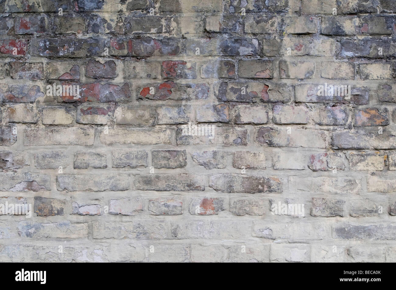 Old brick wall, background - Stock Image