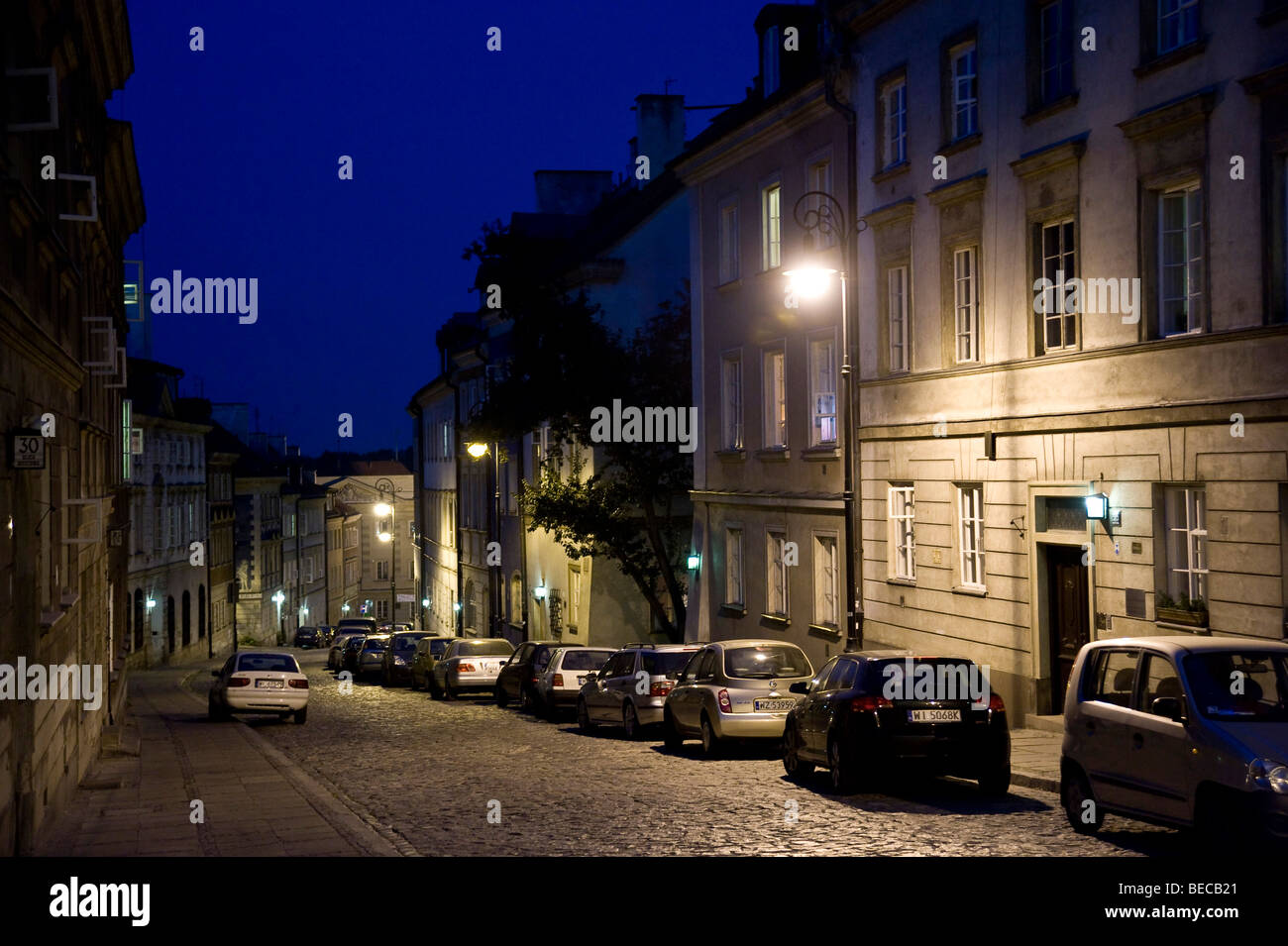 Historic centre of Warsaw, Poland, Europe - Stock Image
