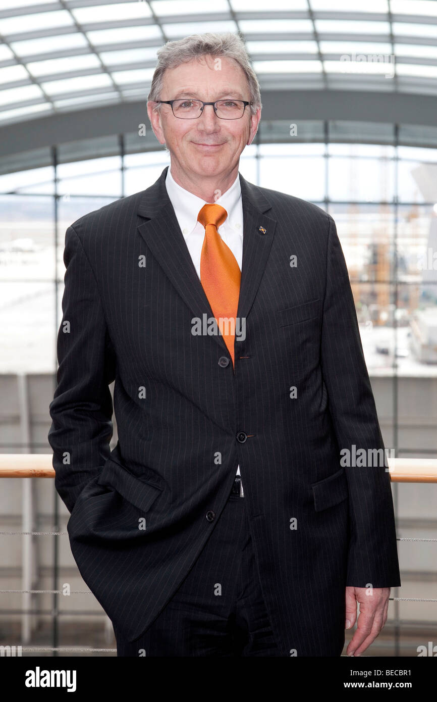 Wolfgang Mayrhuber, chairman and CEO of Deutsche Lufthansa AG, Frankfurt am Main, Hesse, Germany, Europe Stock Photo