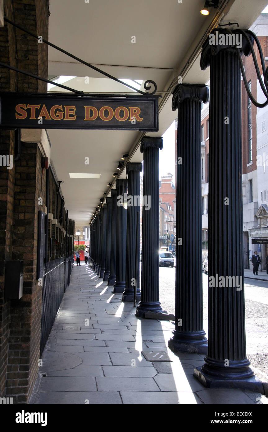 Drury Lane Theatre, Covent Garden, City of London, London, England, United Kingdom - Stock Image