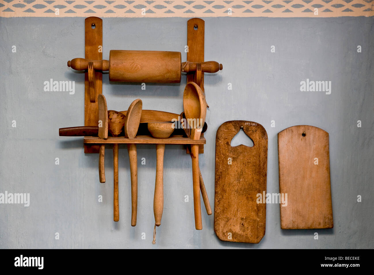 Kitchen equipment - Stock Image