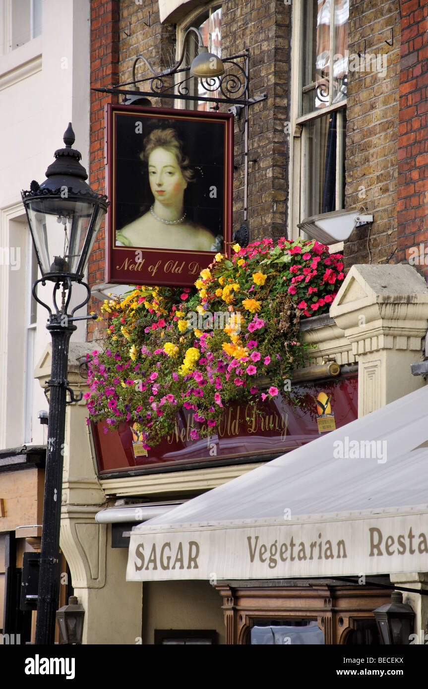 The Nell of Old Drury Pub, Covent Garden, City of Westminster, London, England, United Kingdom Stock Photo