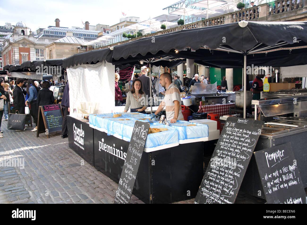 Outdoor food market in piazza covent garden city of for Outdoor food market