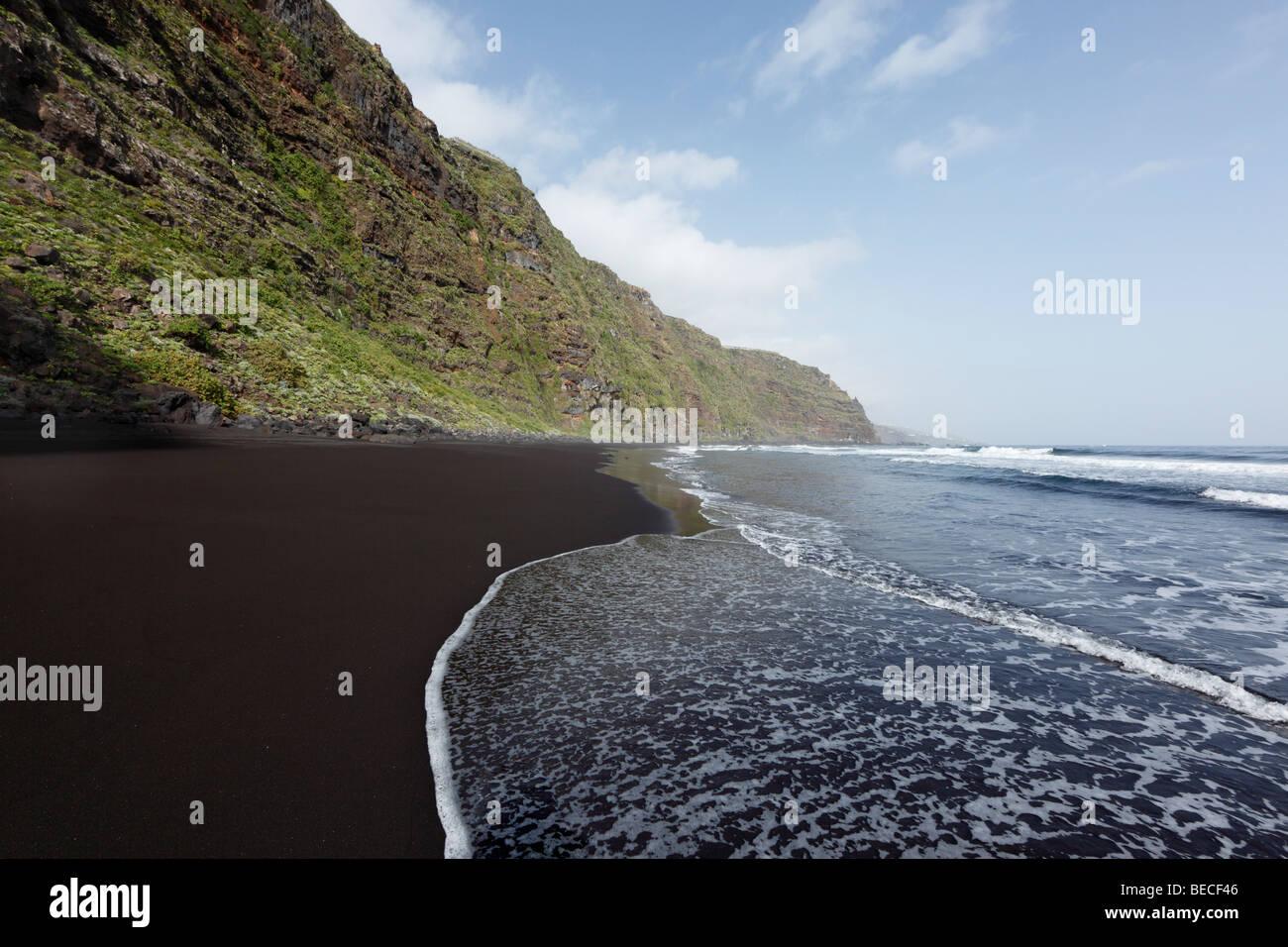 Playa de Nogales, Puntallana, La Palma, Canary Islands, Spain - Stock Image