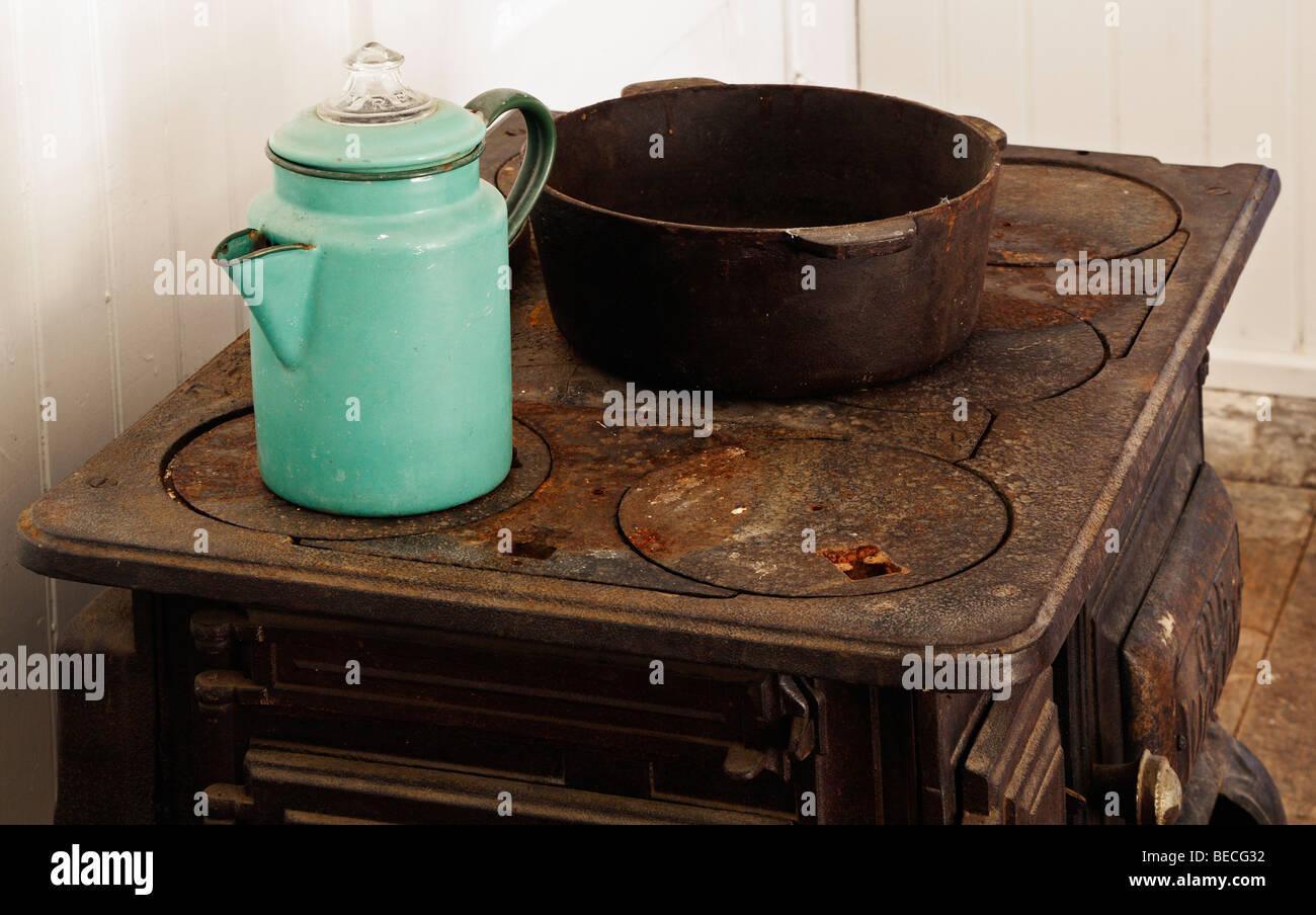 Victorian Kitchen - Stock Image