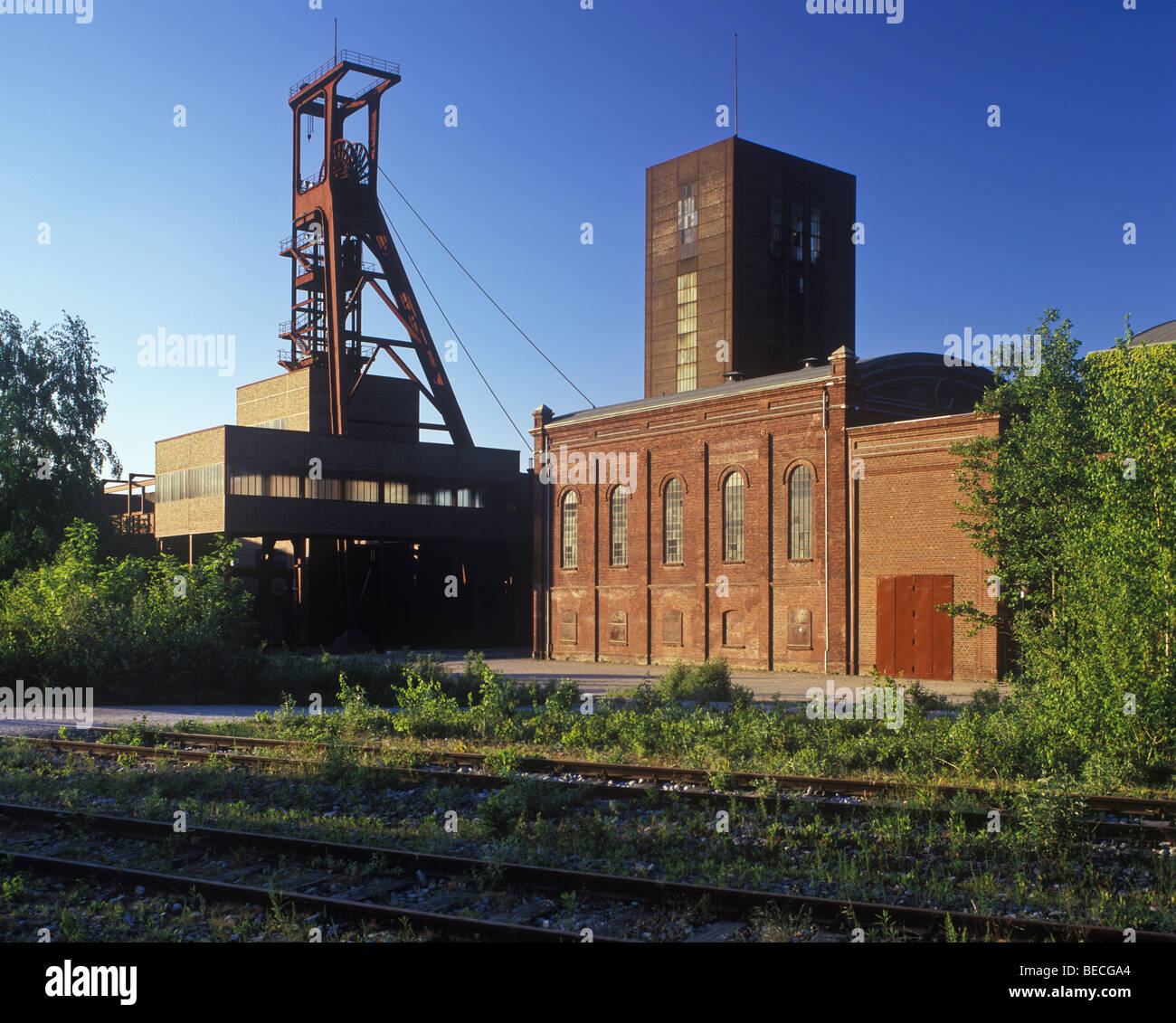 Zollverein Coal Mine Industrial Complex, Essen, North Rhine-Westphalia, Germany, Europe - Stock Image