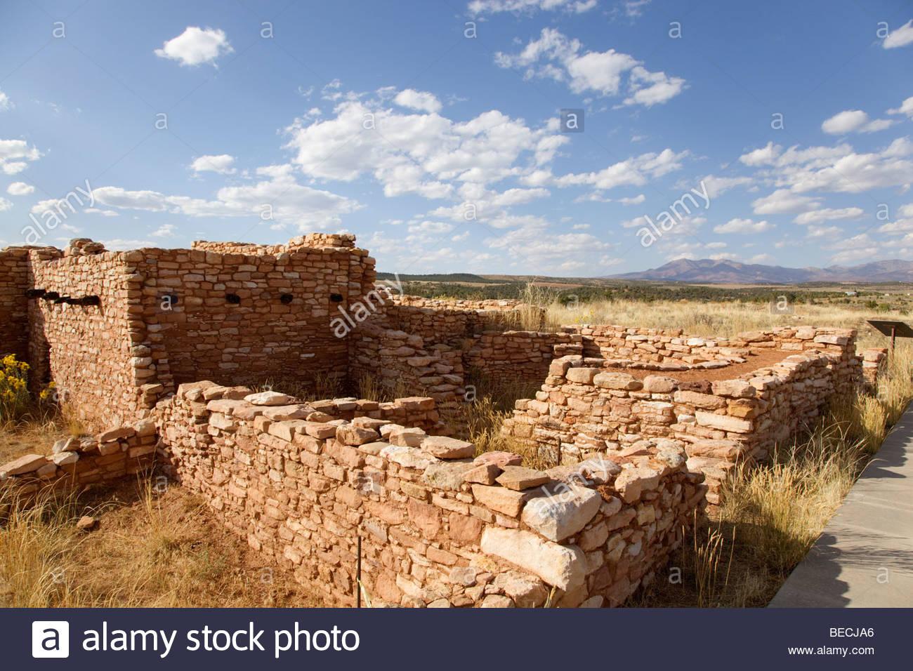 Edge; of; the; Cedars; Ruins; Ancestral; Puebloan; Ruins; Blanding; Utah; Stock Photo