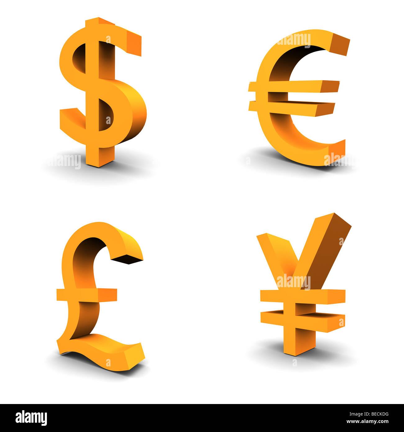Dollar Euro Pound Stock Photos Dollar Euro Pound Stock Images