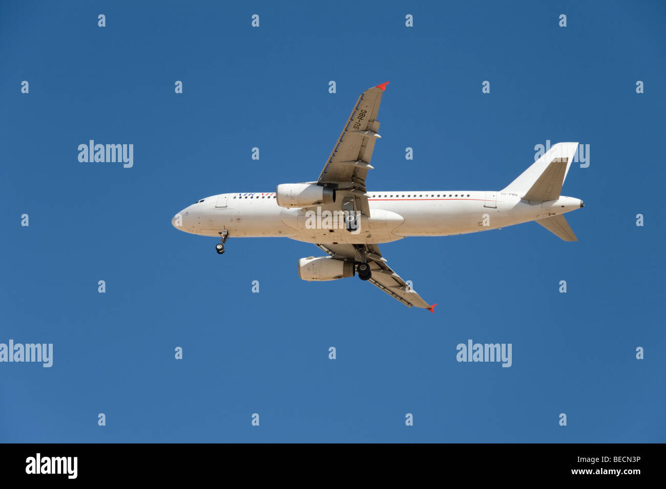Air Memphis, Airbus A320-233 - Stock Image