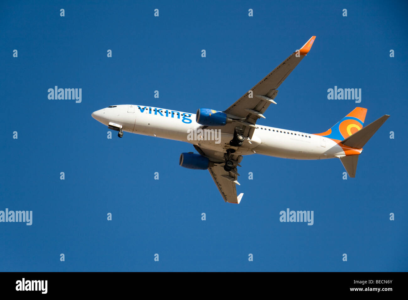 Viking Airlines (Sunwing Airlines) Boeing 737-86Q - Stock Image