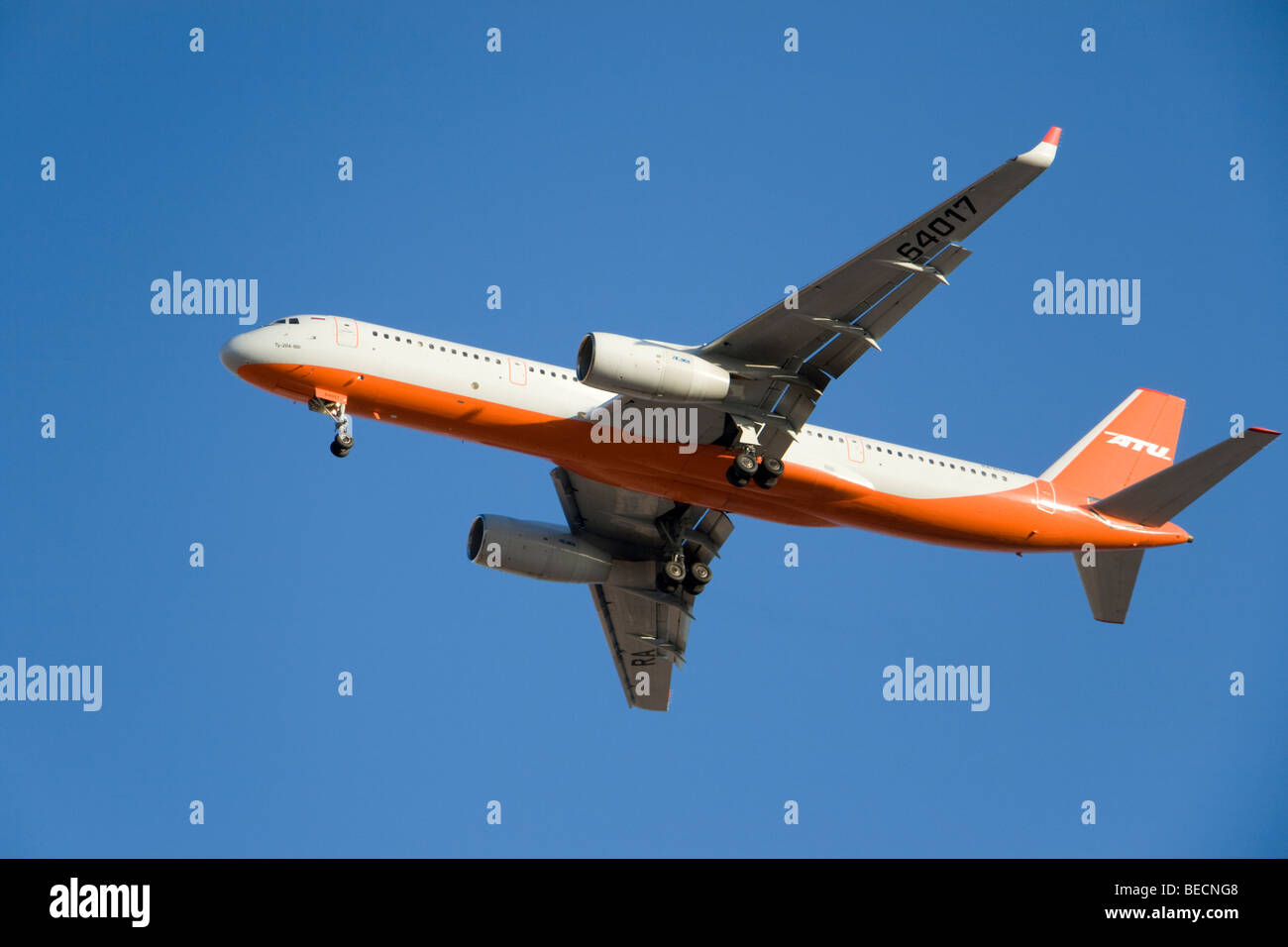 ATU Tupolev Tu-204-100 RA 64017 - Stock Image