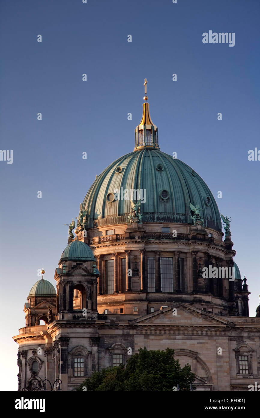 Berlin Cathedral, Berliner Dom. - Stock Image