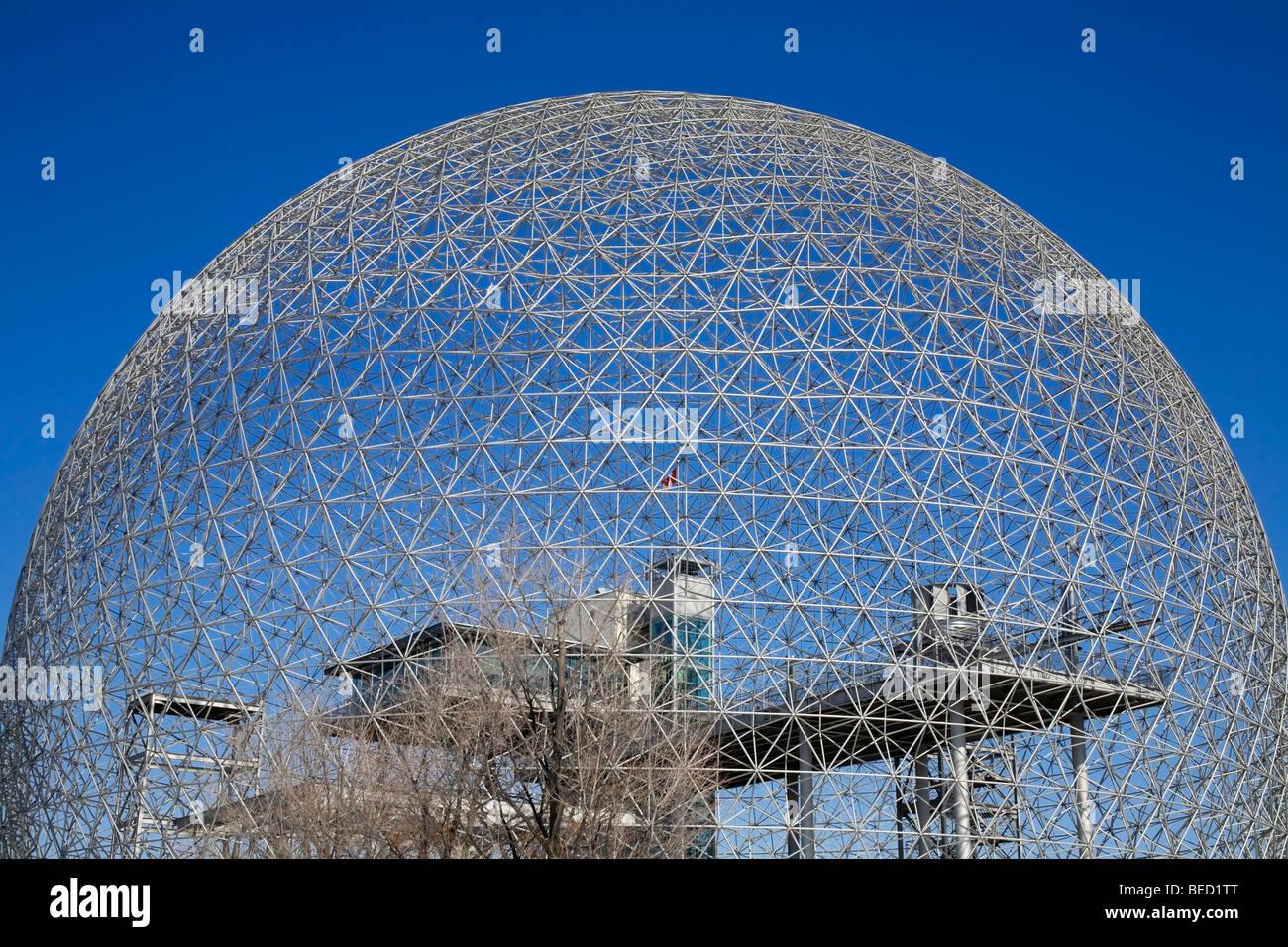 Biosphere Montreal, Quebec, Canada - Stock Image