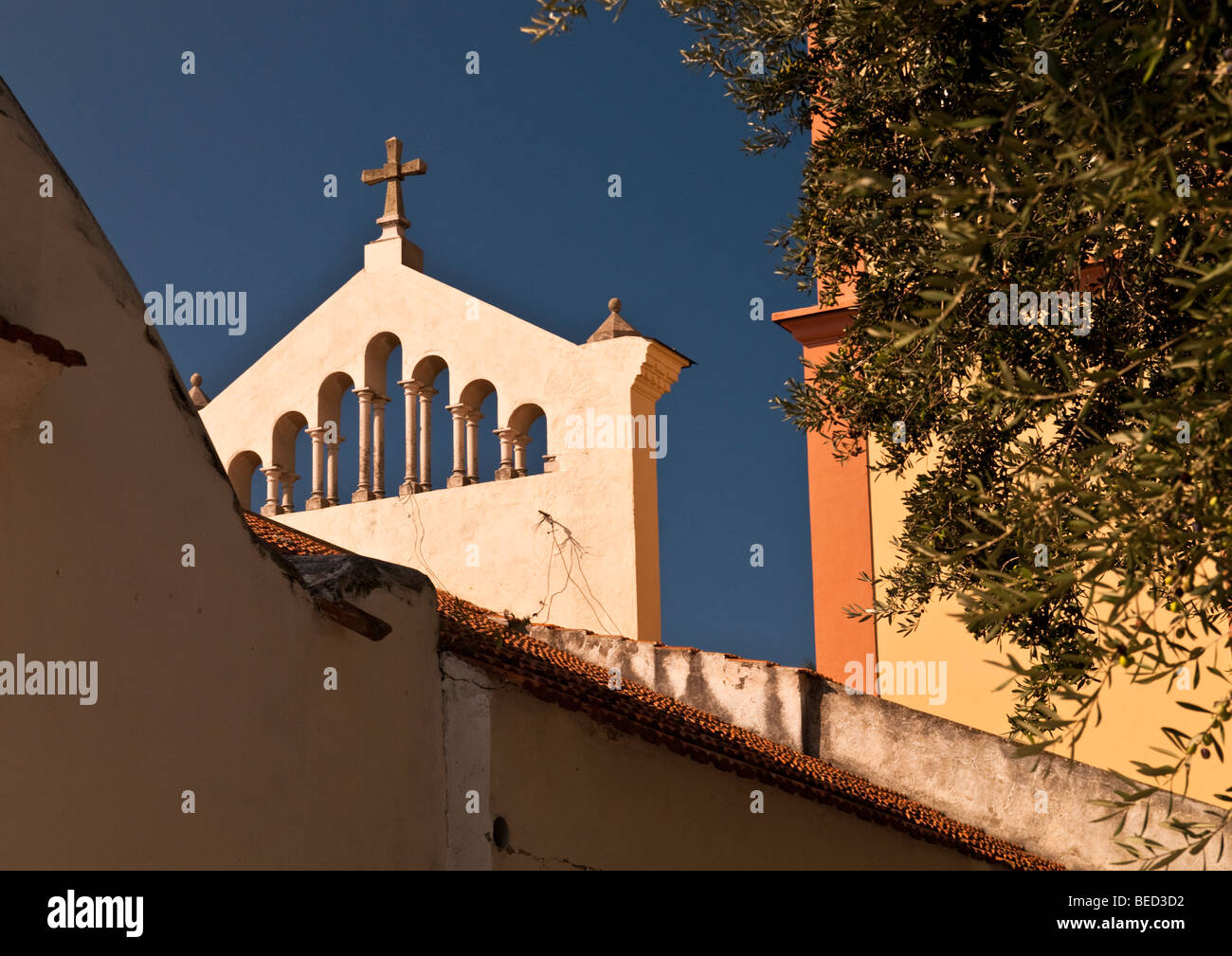 Church of St. Pancras, Conca Dei Marini , Italy - Stock Image