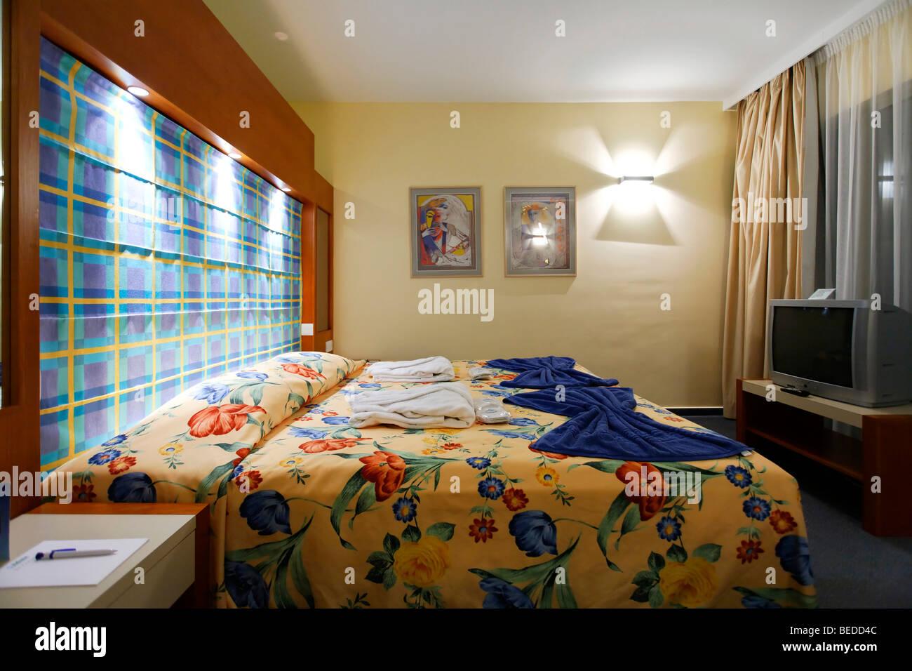 Room, Aldiana Club, Larnaca, Cyprus, Asia - Stock Image