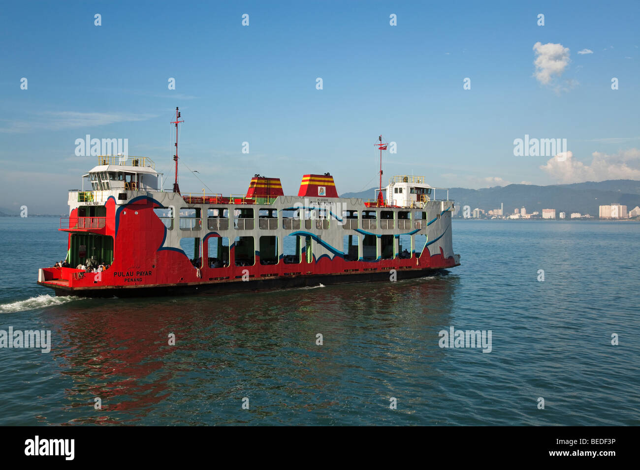 Penang Ferry Service - Stock Image