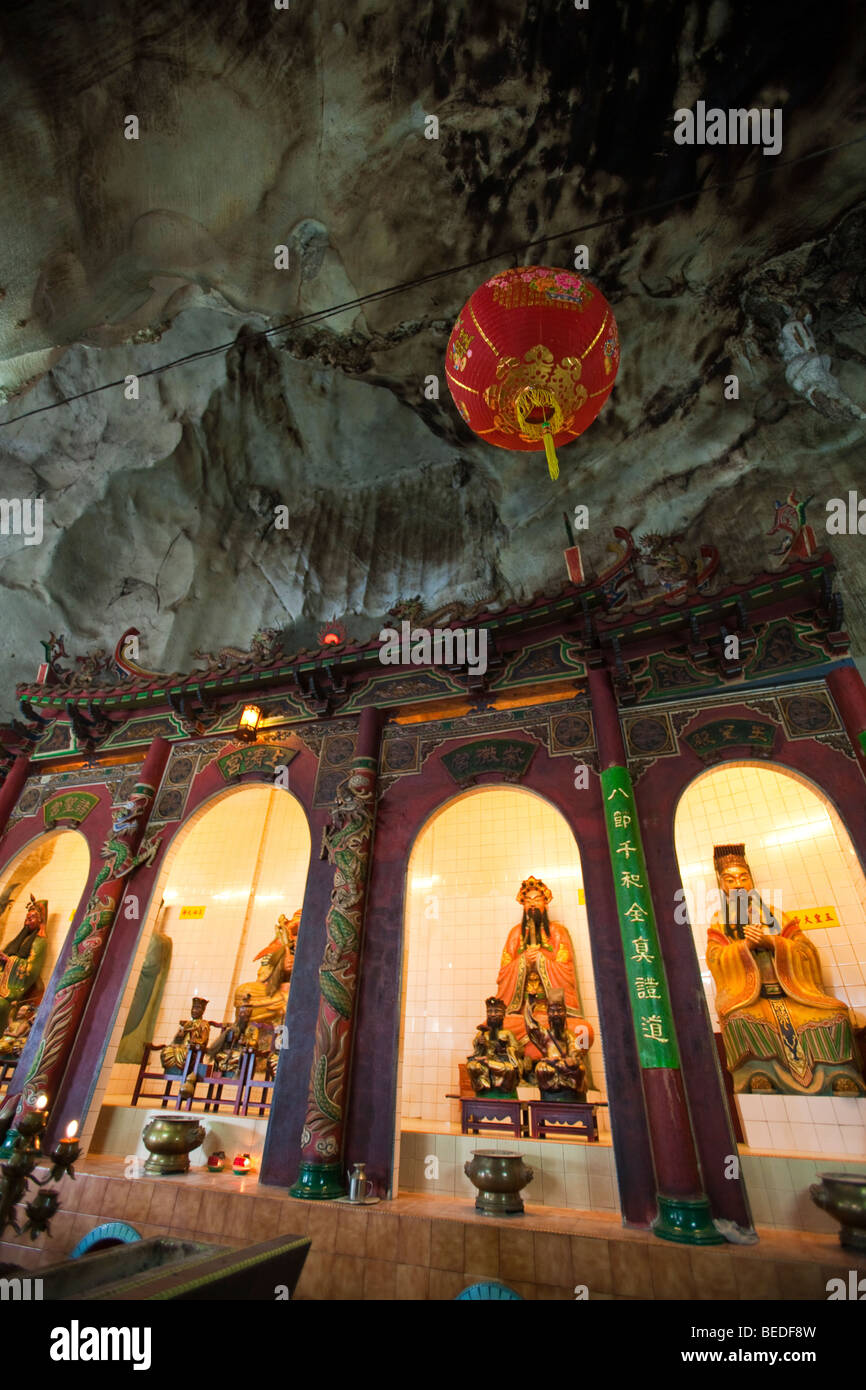 Sam Poh Tong Cave Temple, Ipoh, Malaysia - Stock Image