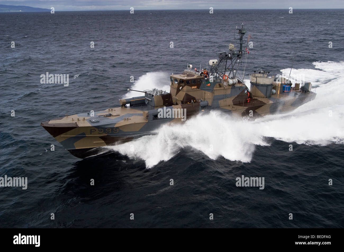 Knm Erle A Hauk Class Missile Torpedo Boat Of The