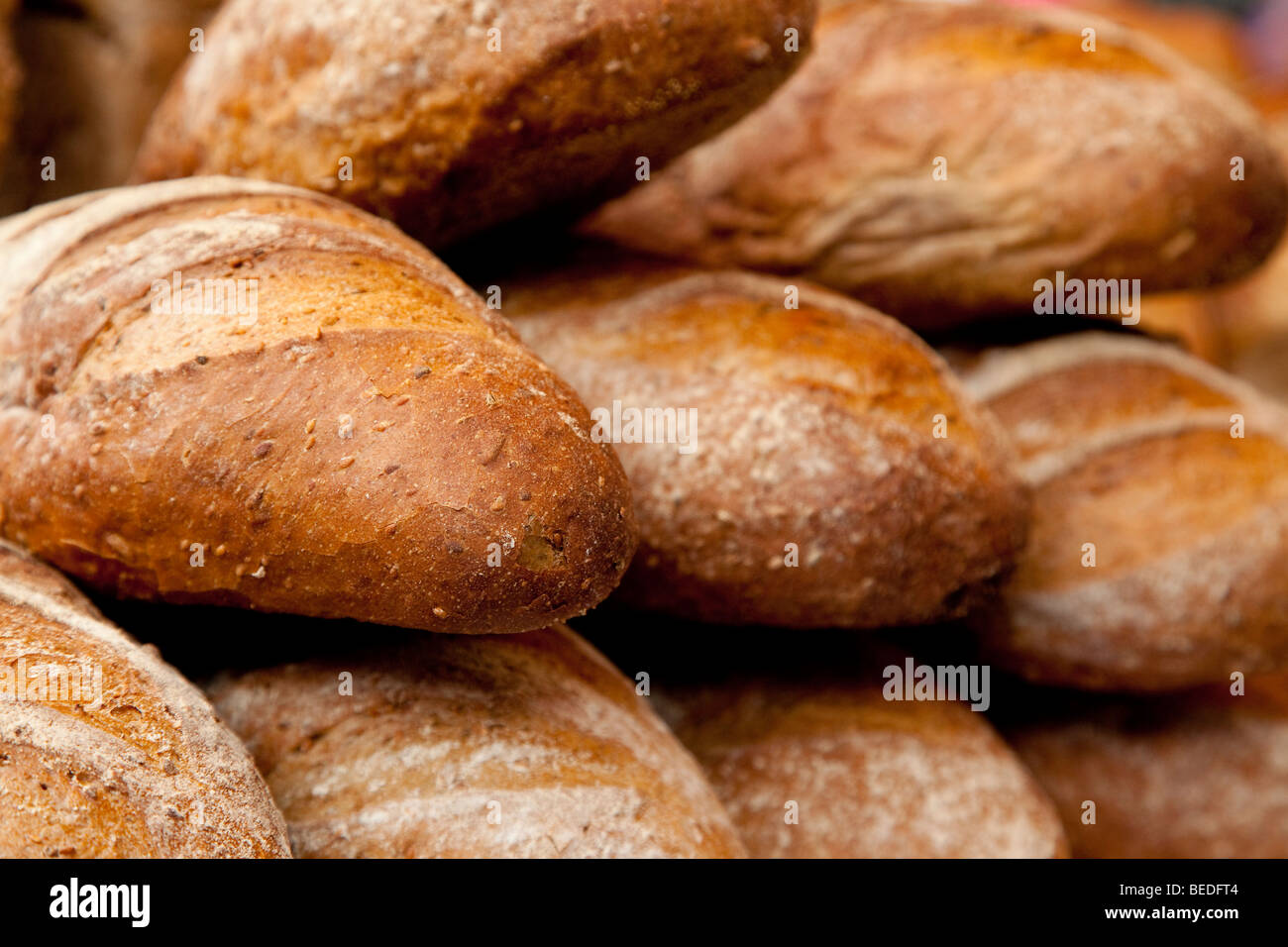Large bloomer loaf - Stock Image