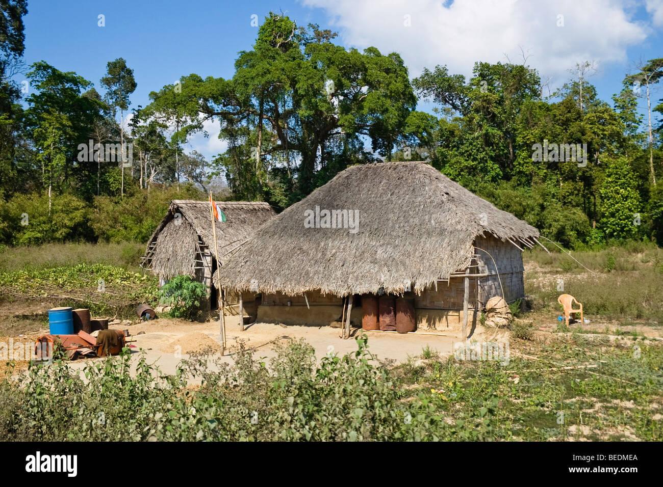 Farmhouse, North-Andaman, Andaman Islands, India, South Asia Stock ...