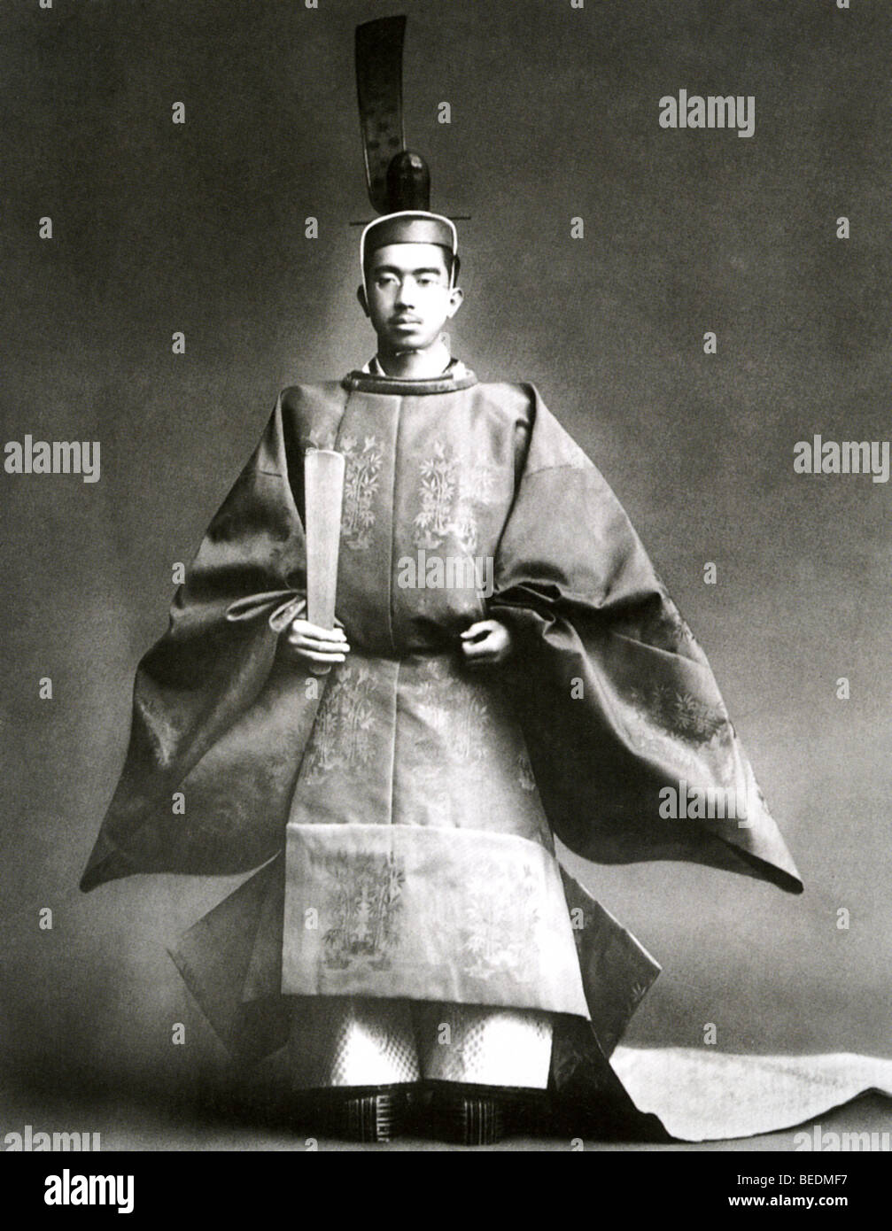 EMPEROR HIROHITO OF JAPAN (1901-1989) here about 1940 - Stock Image