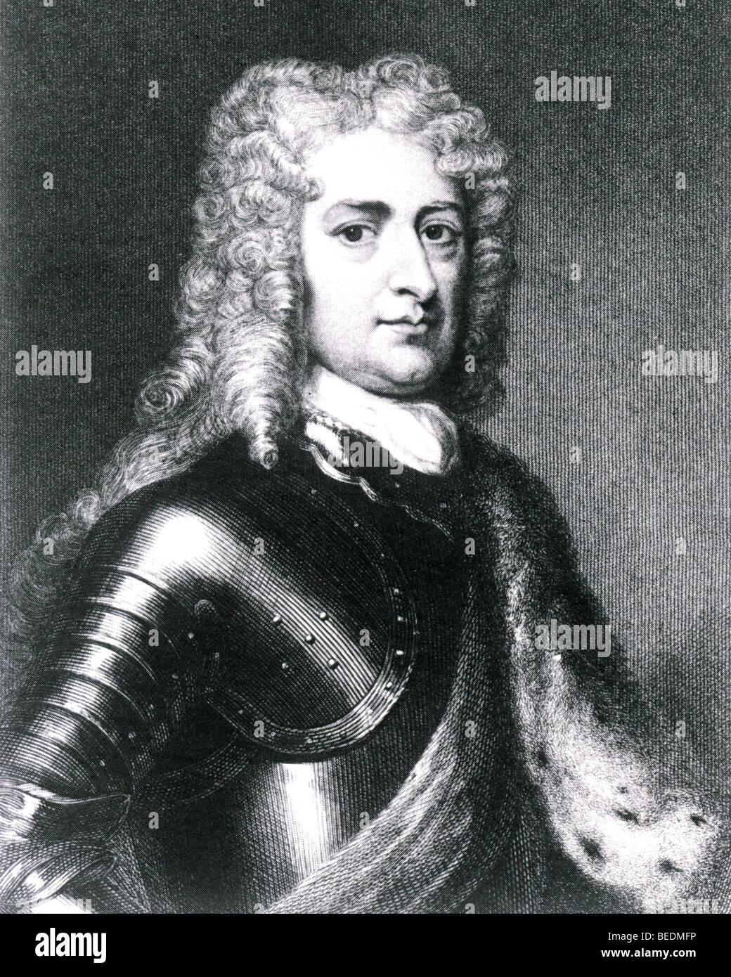 JOHN CHURCHILL, Ist Duke of Marlborough (1650-1722) - Stock Image