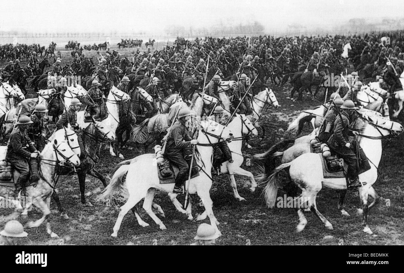 POLISH CAVALRY ın 1939 - Stock Image