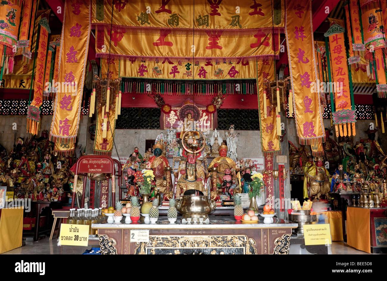 Chinese Jui-Tui Temple in Phuket Town Phuket Island Southern Thailand Southeast Asia - Stock Image