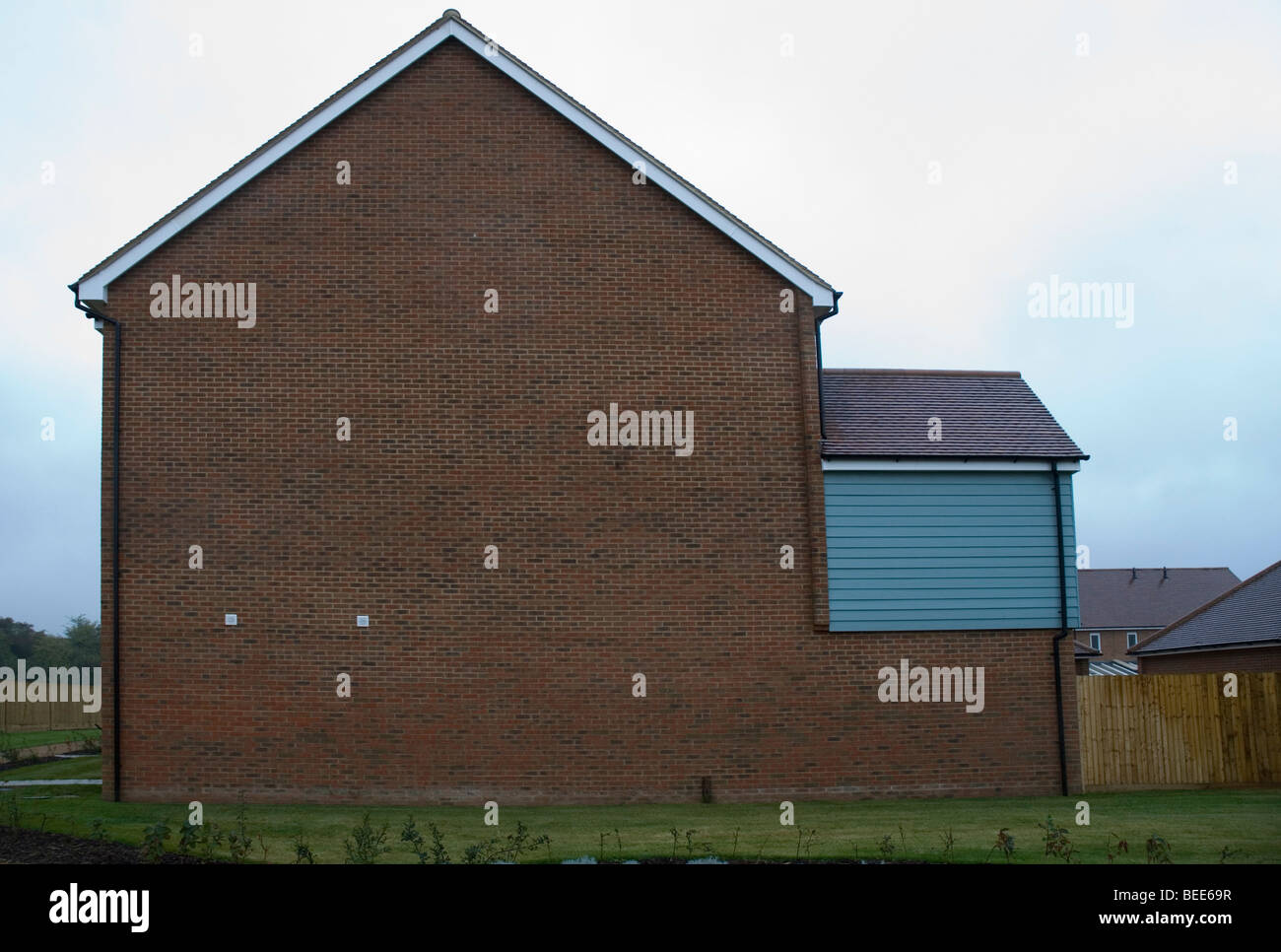 house gable end for sale - Stock Image