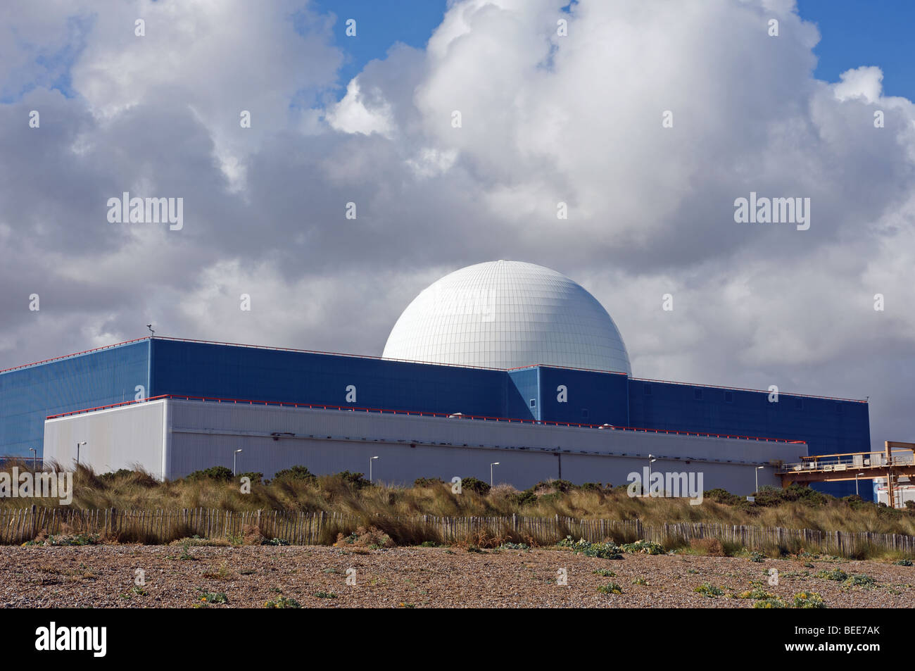Sizewell B nuclear power station, Suffolk, UK. - Stock Image