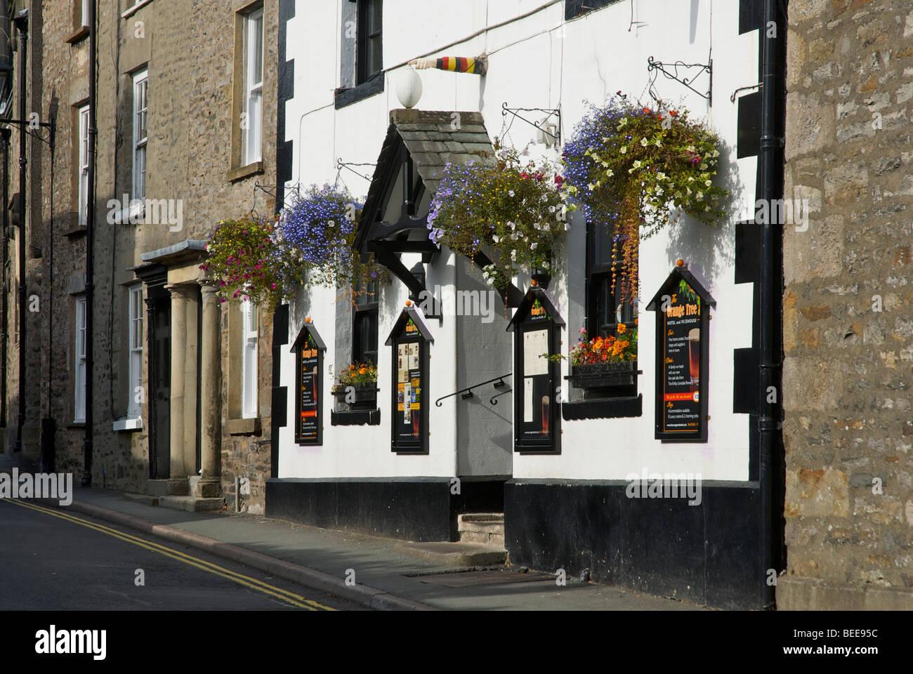 The Orange Tree Hotel, Fairbank, Kirkby Lonsdale, Cumbria, England UK - Stock Image