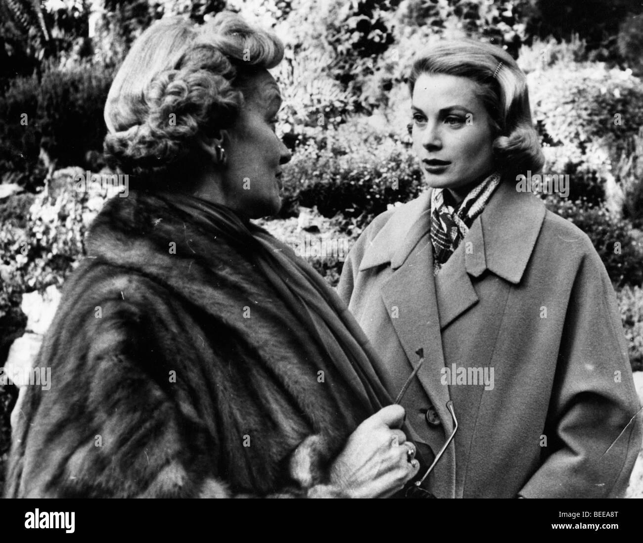 Grace Kelly, Princess of Monaco, right. Stock Photo