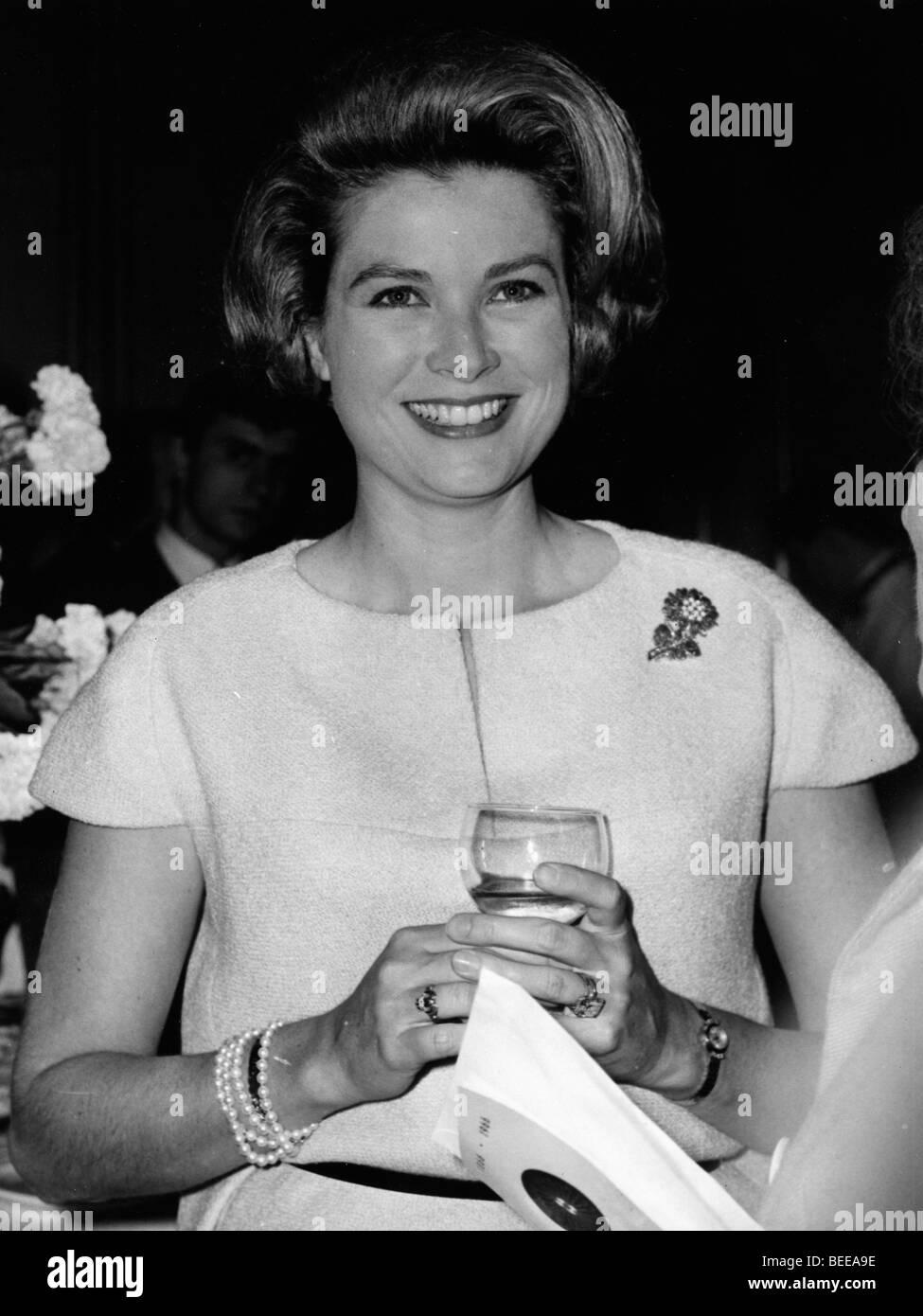 Grace Kelly, Princess of Monaco Stock Photo