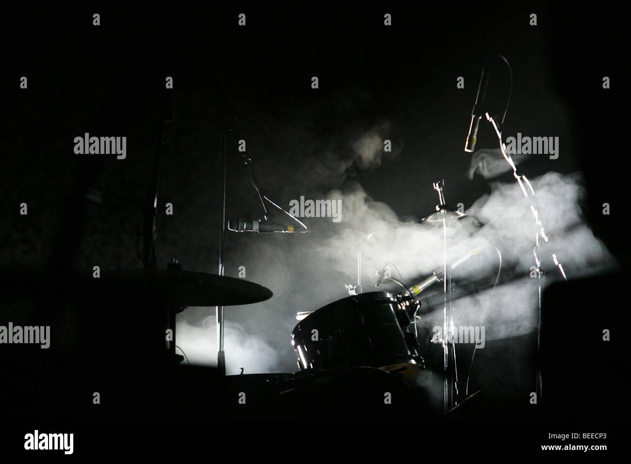 Drumkit - Stock Image