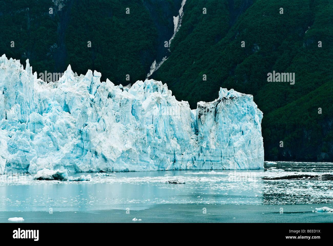 Hubbard Glacier, Disenchantment Bay, Alaska, USA - Stock Image