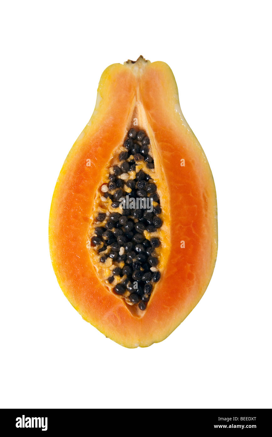 Pictures Papaya Slices