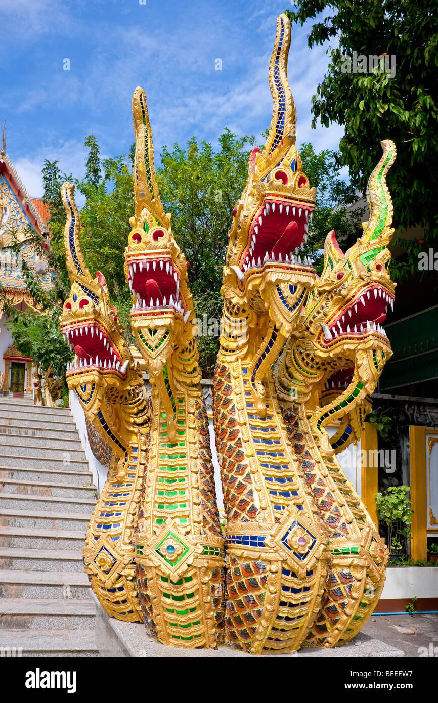 Wat Kuan temple in Phuket Town Phuket Island Southern Thailand Southeast Asia - Stock Image