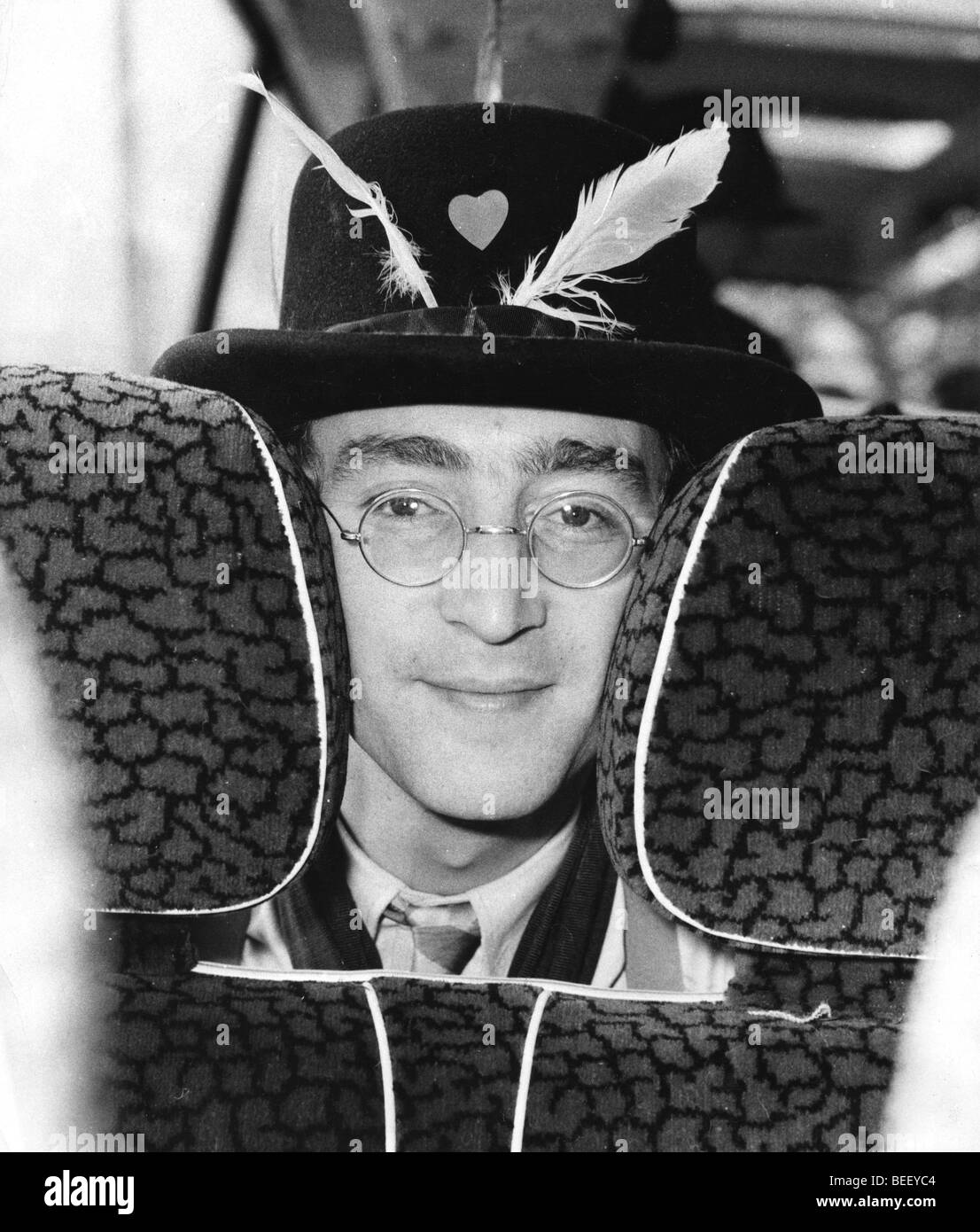 Beatle John Lennon during the Magical Mystery Tour - Stock Image