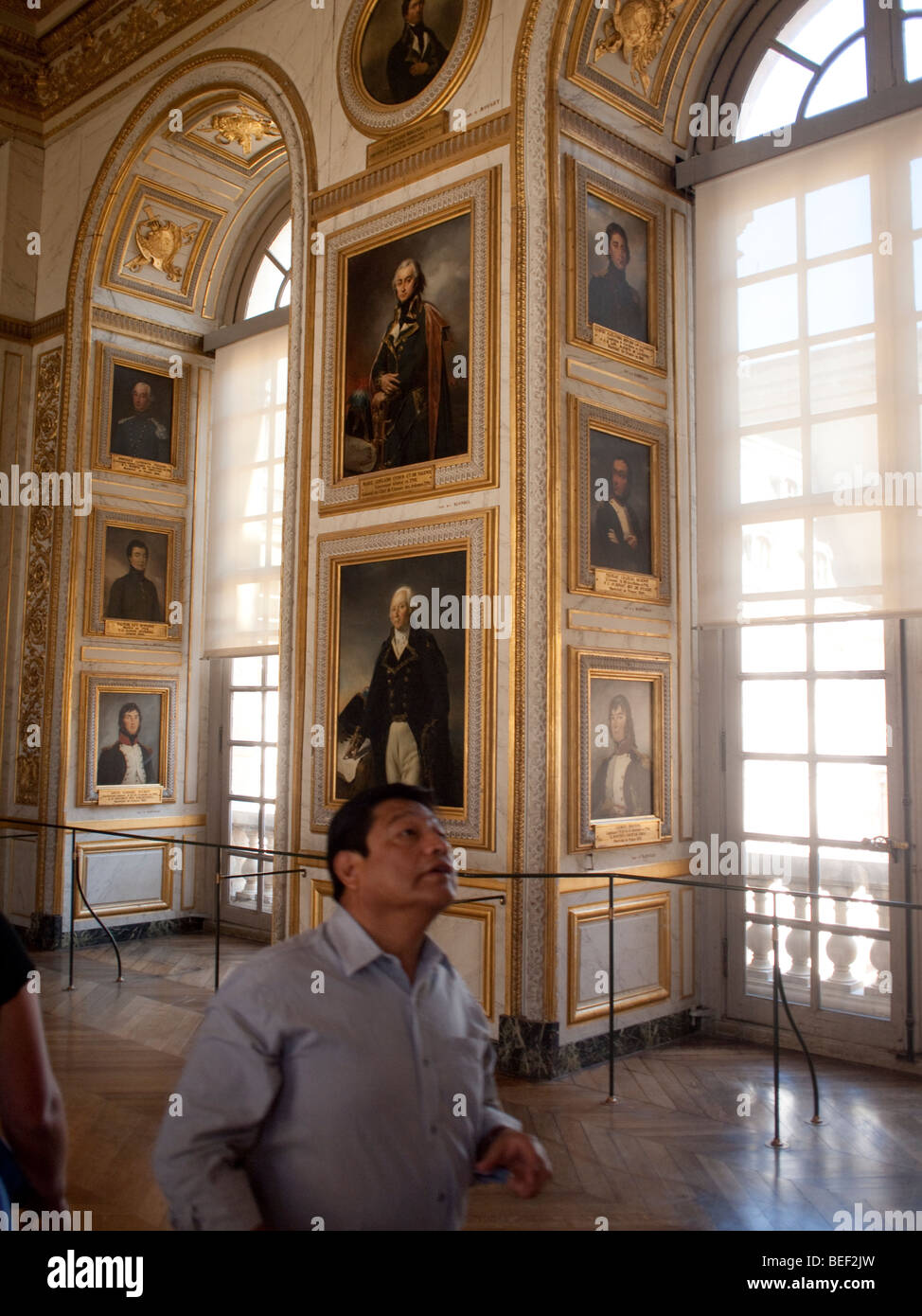 A photograph from a series of Palace of Versailles in France. Stock Photo