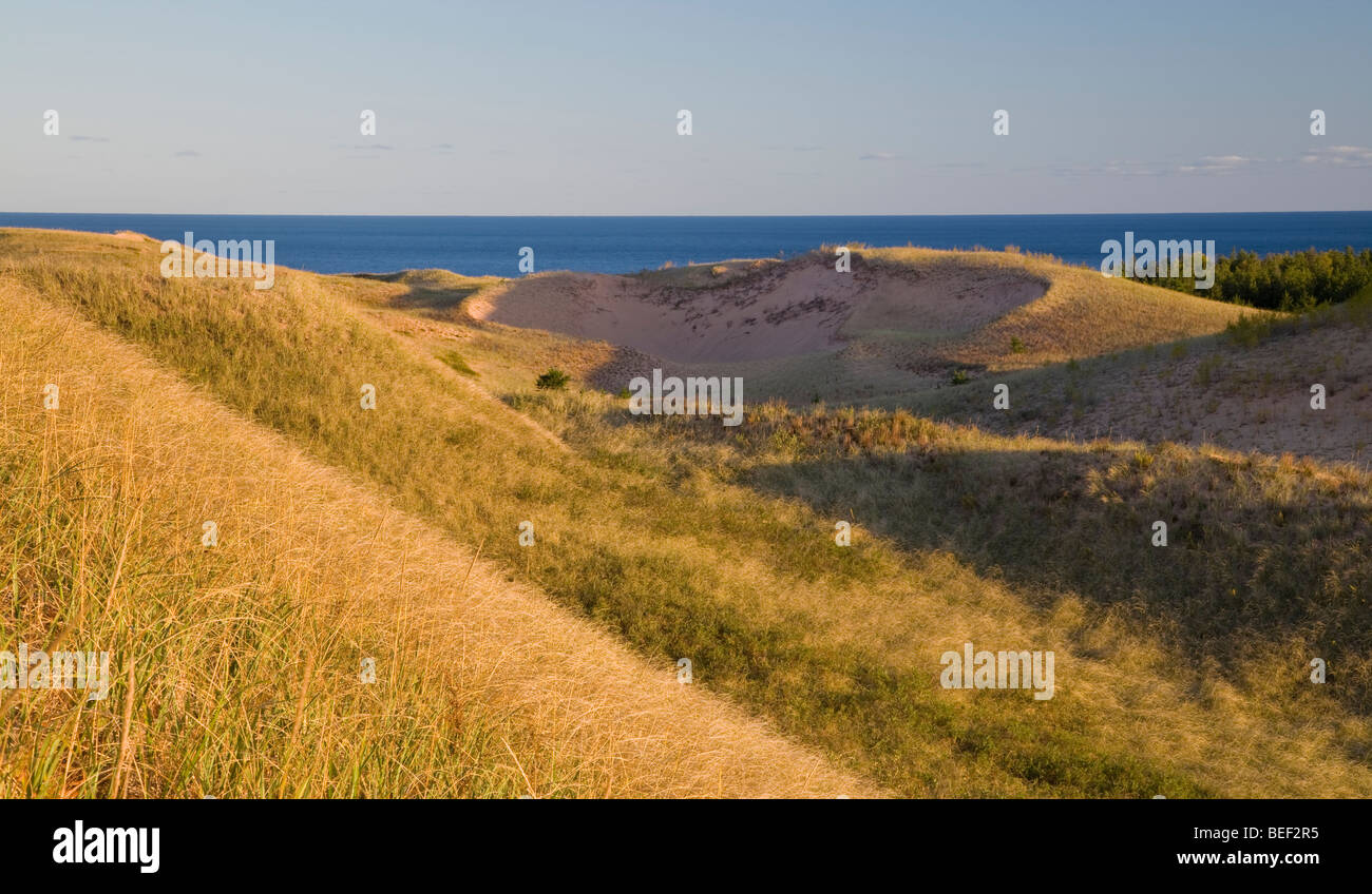 Grand Sable Dunes, Pictured Rocks National Lakes Shore, Michigan - Stock Image