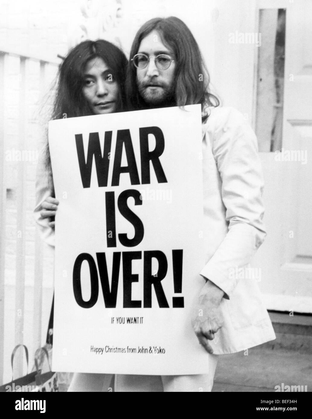 John Lennon Yoko Ono Stock Photos & John Lennon Yoko Ono Stock ...