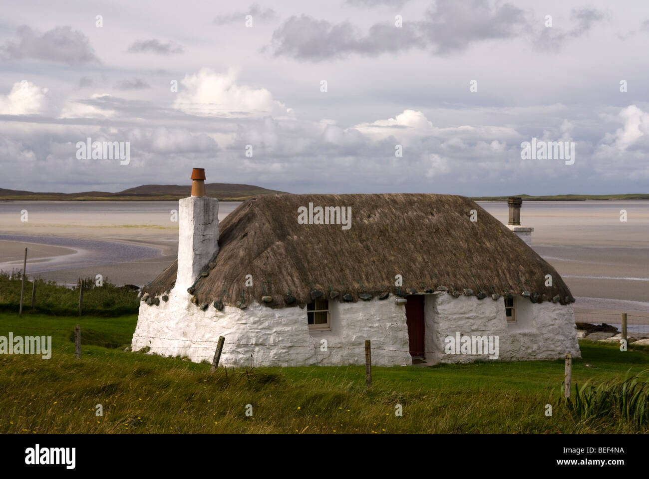 Struan Cottage A Traditional Hebridean Cottage North