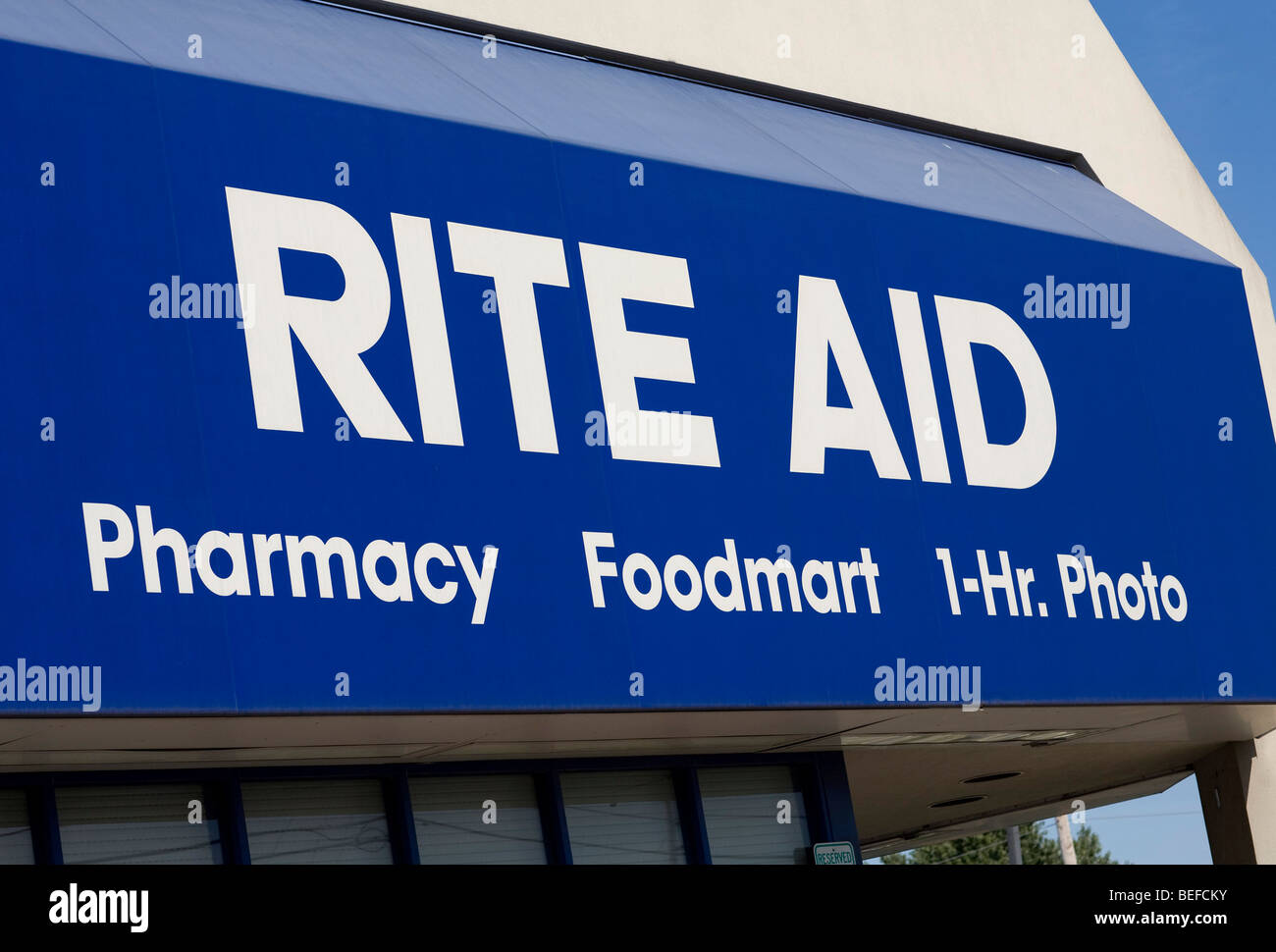 A Rite Aid Pharmacy location in Maryland. - Stock Image