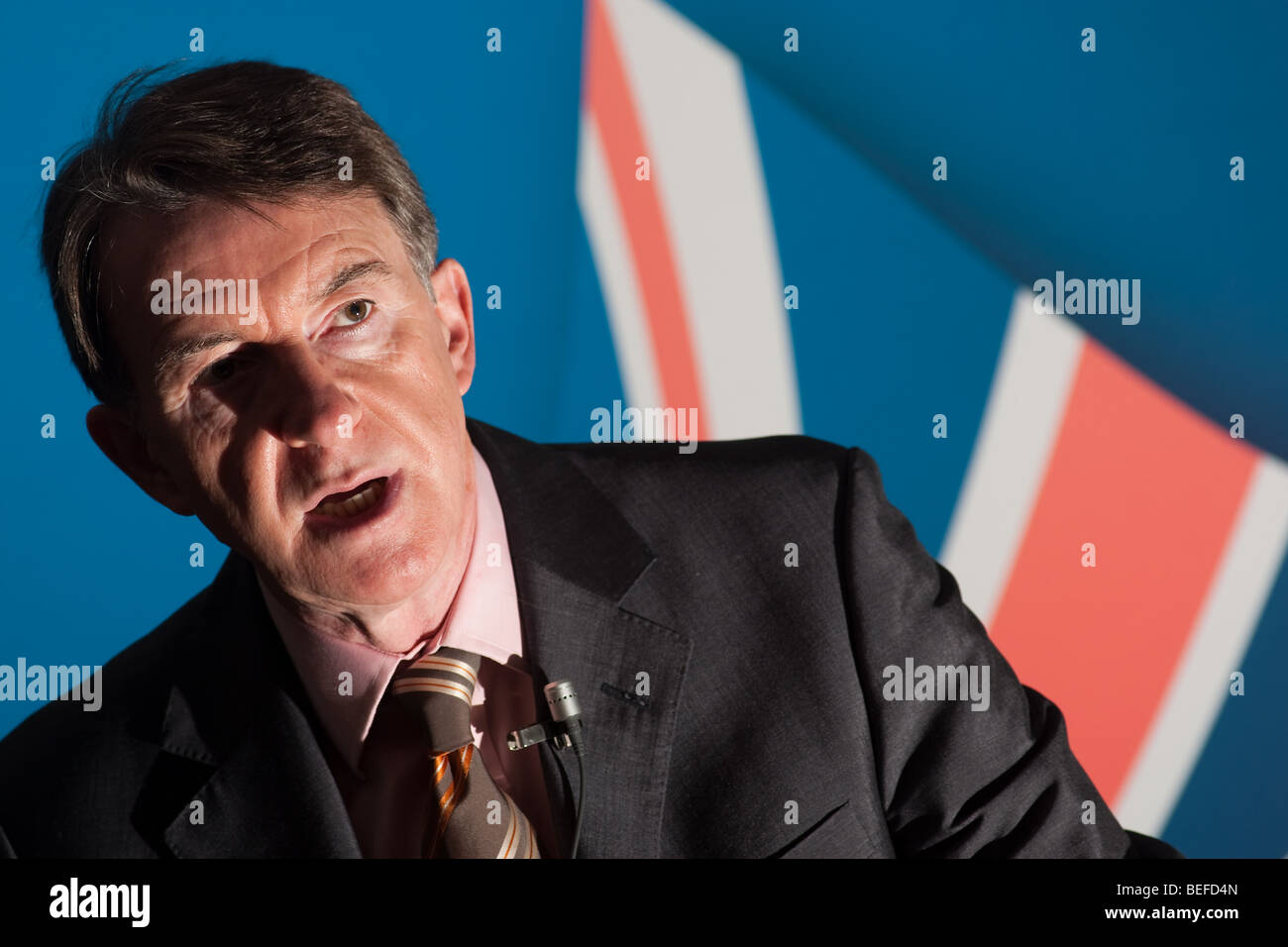 Lord Peter Benjamin Mandelson, Labour Party politician. - Stock Image