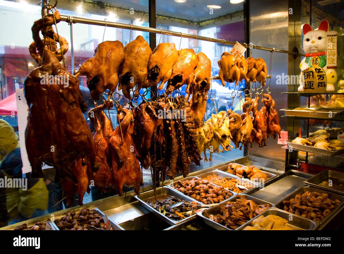 California Chinatown San Francisco Roast Meats At Yee S