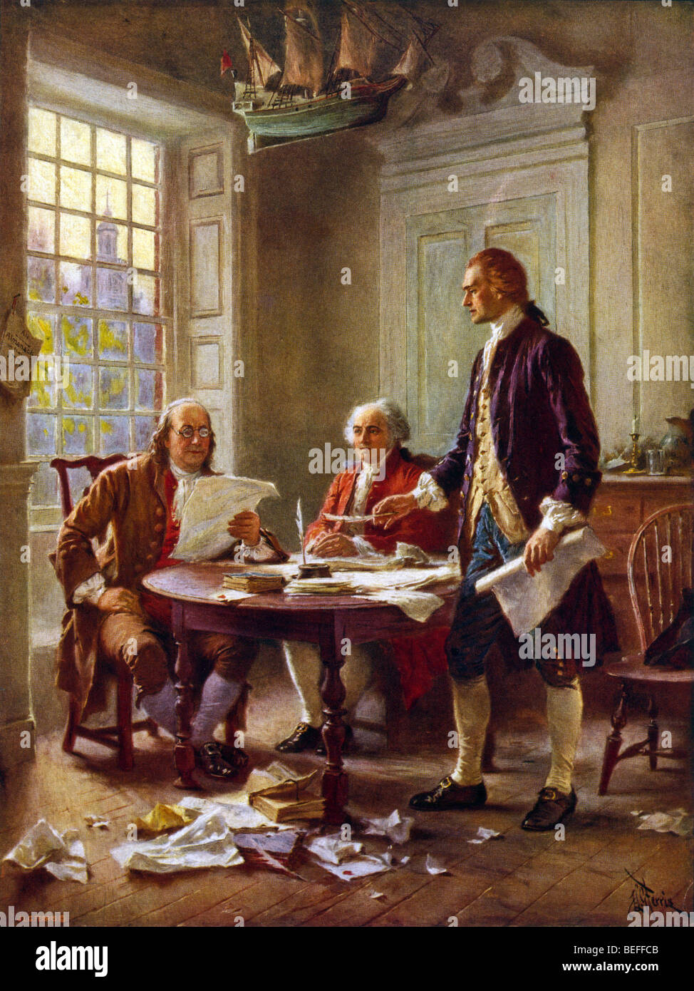 Famous Paintings Founding Fathers Us