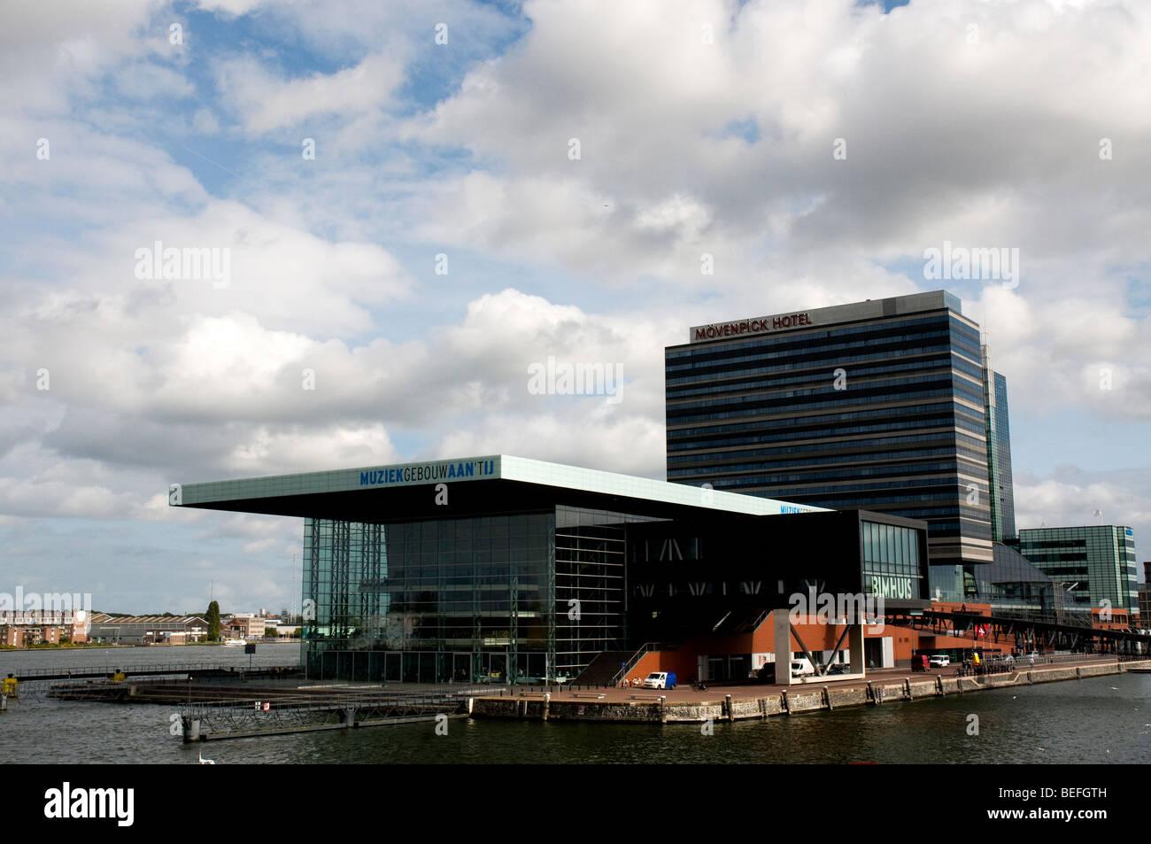 Muziekgebouw aan 't IJ, Amsterdam, Holland Netherlands - Stock Image