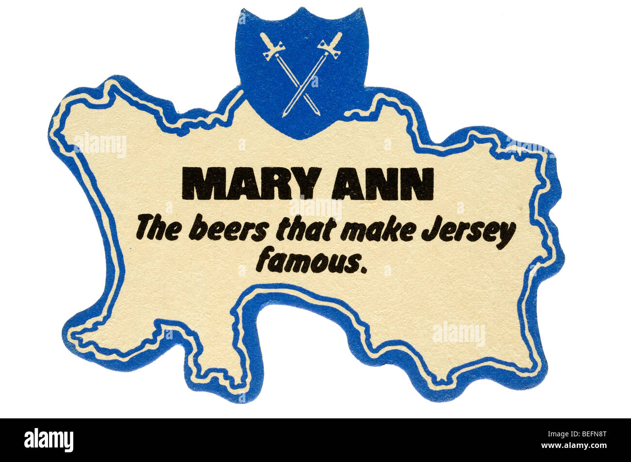 mary ann the beers that make jersey famous - Stock Image